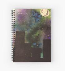 City in the dark Spiral Notebook