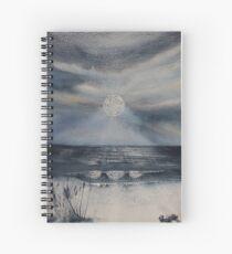 Doily Moon Spiral Notebook