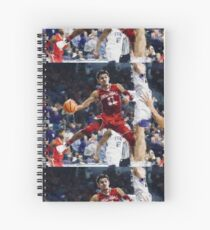 trae young Spiral Notebook