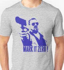 Mark it Zero Blue Unisex T-Shirt