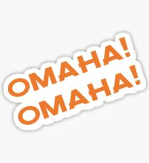 Omaha! Sticker