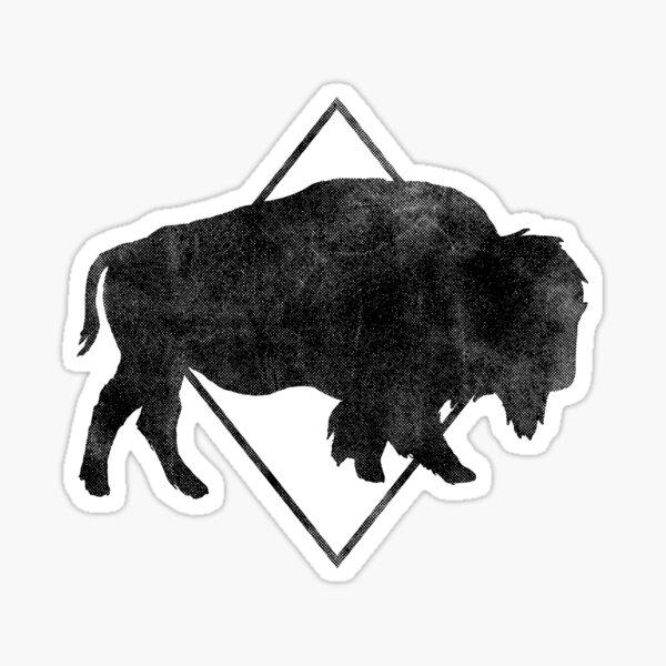 Bison & Blue Sticker