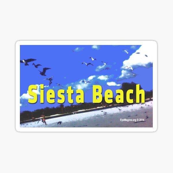 Siesta Beach Sticker
