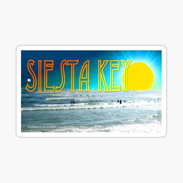 Siesta Key Sunset Sticker