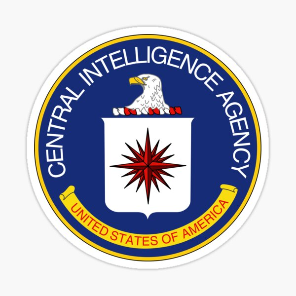 CIA Central Intelligence Agency Logo T-Shirt Sticker