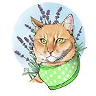 Jake with Lavender by mickeyila