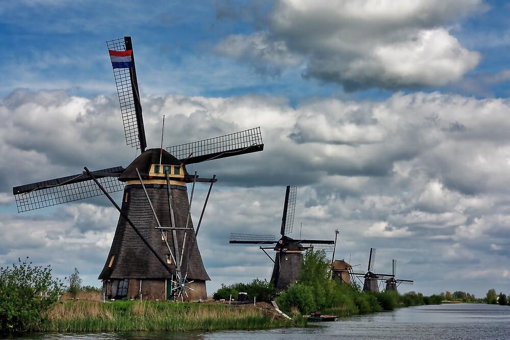 Kinderdijk by Chopen