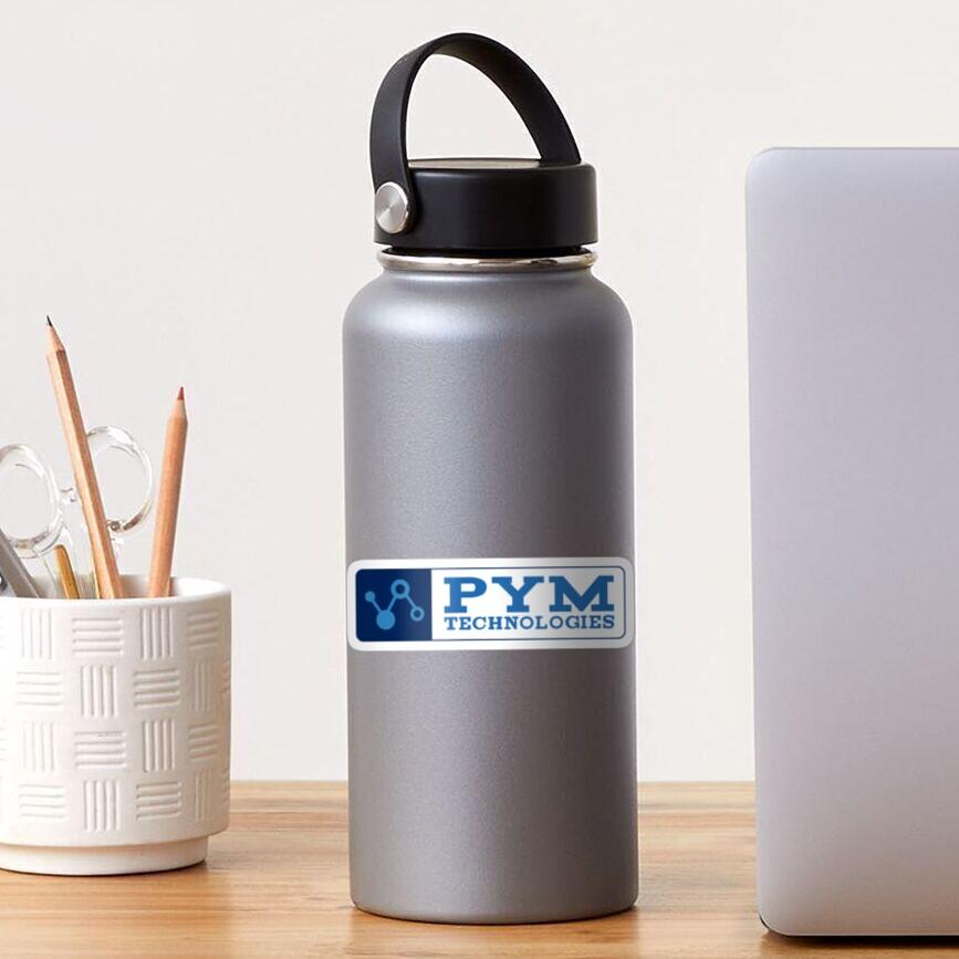 Ant-Man - Pym Technologies - Blue Clean Sticker