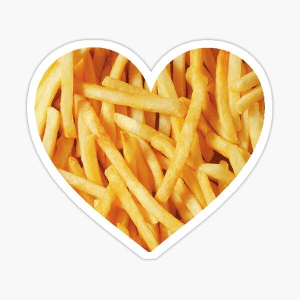 Fries Love Sticker