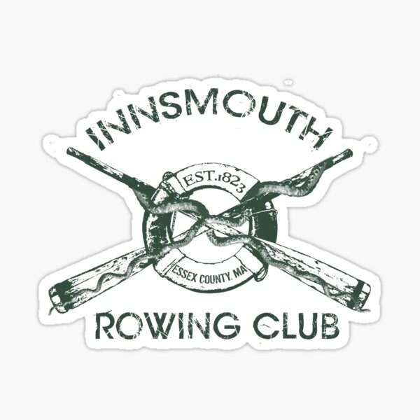 Innsmouth Rowing Club Sticker