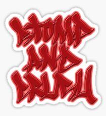 Stomp and Crush Sticker