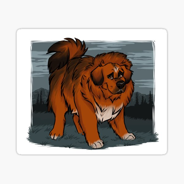 Mastiff Sticker