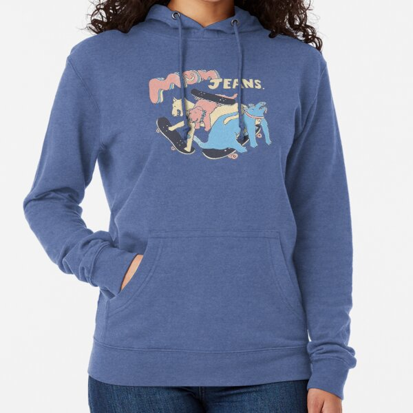 Mom Jeans band - puppy love Lightweight Hoodie
