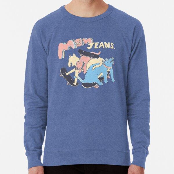 Mom Jeans band - puppy love Lightweight Sweatshirt