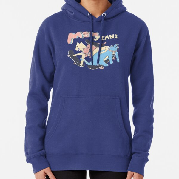 Mom Jeans band - puppy love Pullover Hoodie