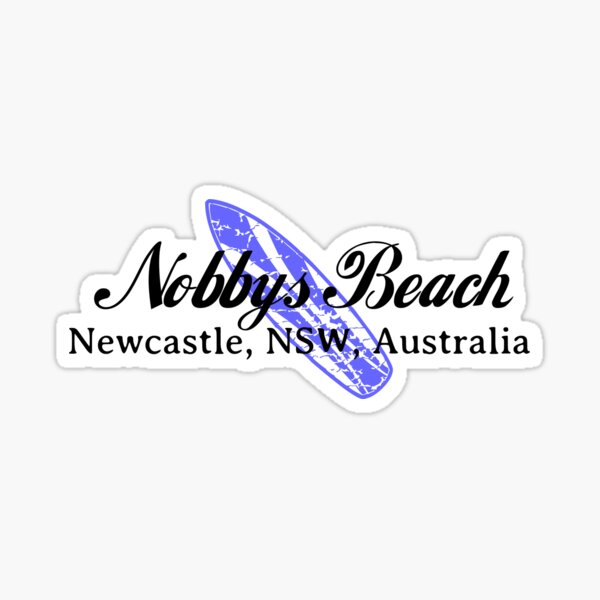 Surf Nobbys Beach Sticker