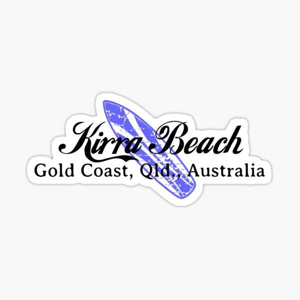 Surf Kirra Sticker