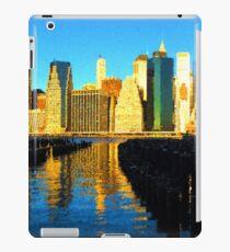 Vinilo o funda para iPad Brillante y soleado horizonte de la ciudad de Nueva York - impresiones de Manhattan