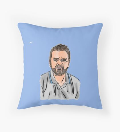 Ian Lambert Illustration Throw Pillow