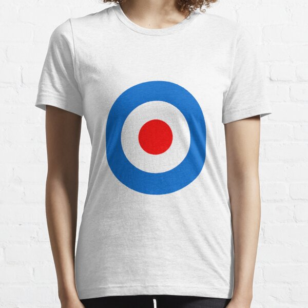 Mod Target Sticker, Target T-shirt, mod sticker, scooter sticker, scooterboy, vespa, lambretta, Punk Essential T-Shirt