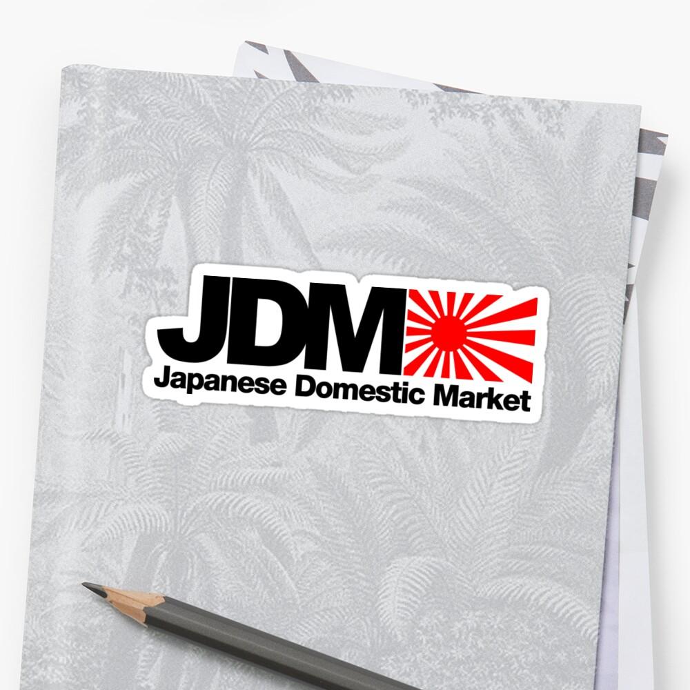Mercado interno japonés JDM (2) Pegatinas