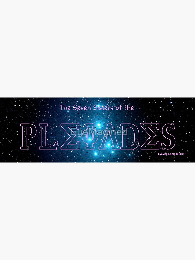 The Pleiades by EyeMagined