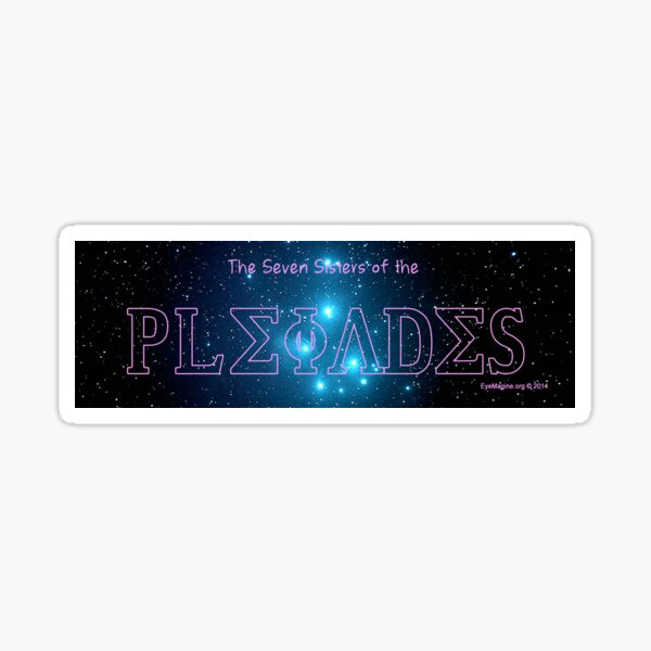 The Pleiades Sticker