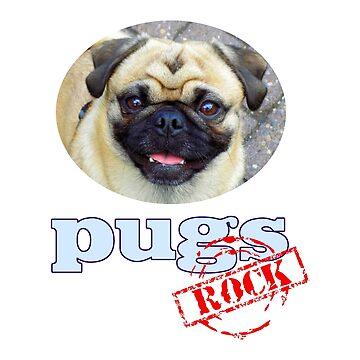 «Pugs Rock!» par Chunga