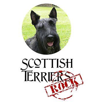 «Terrier écossais Rock!» par Chunga