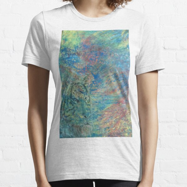 Tiger 2 abstract Essential T-Shirt