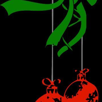 Christmas decoration balls by NovaPaint