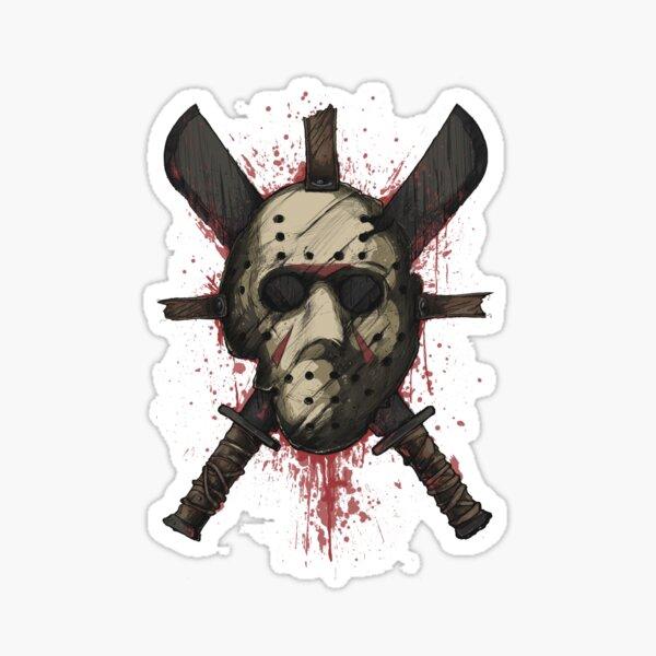 Jason — Tools of trade Sticker