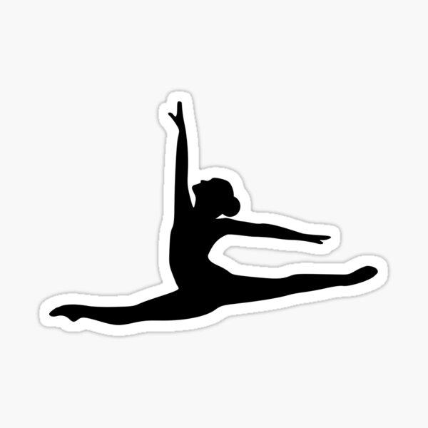 Ballet Dancer Ballerina Sticker