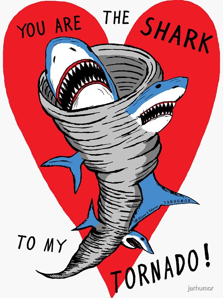 Shark To My Tornado by jarhumor