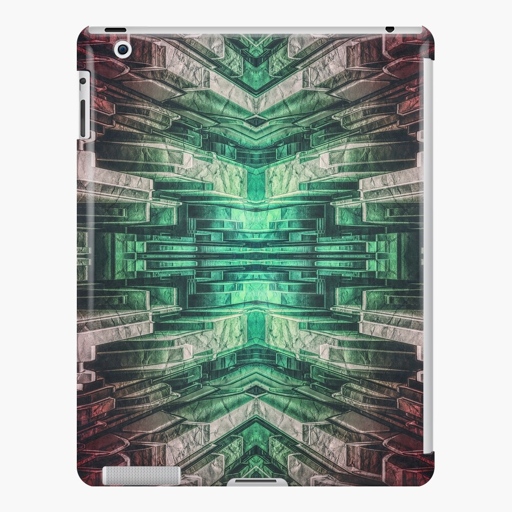 Abstract Mechanical Structure iPad Case & Skin