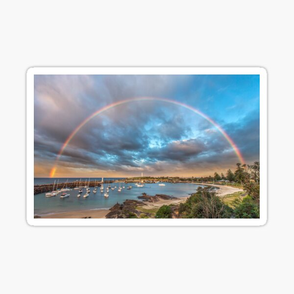 Wollongong Harbour Sticker