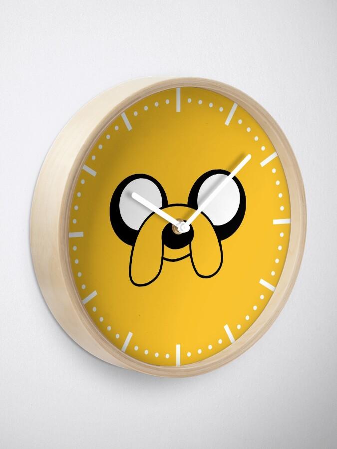 Alternate view of Jake Clock Clock