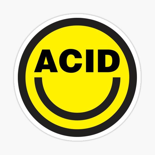 Maison acide Sticker