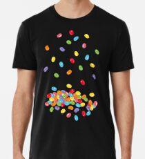 Ostern Jelly Beans Bonbons Süßigkeiten Osterfest Männer Premium T-Shirts