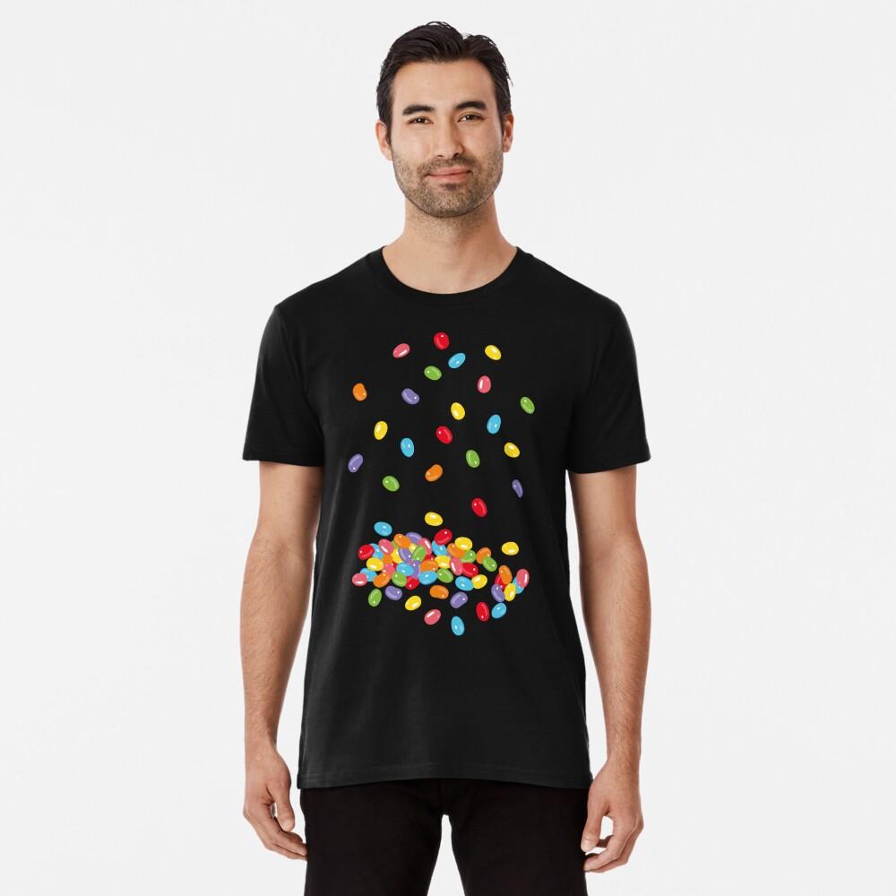 Ostern Jelly Beans Bonbons Süßigkeiten Osterfest Premium T-Shirt