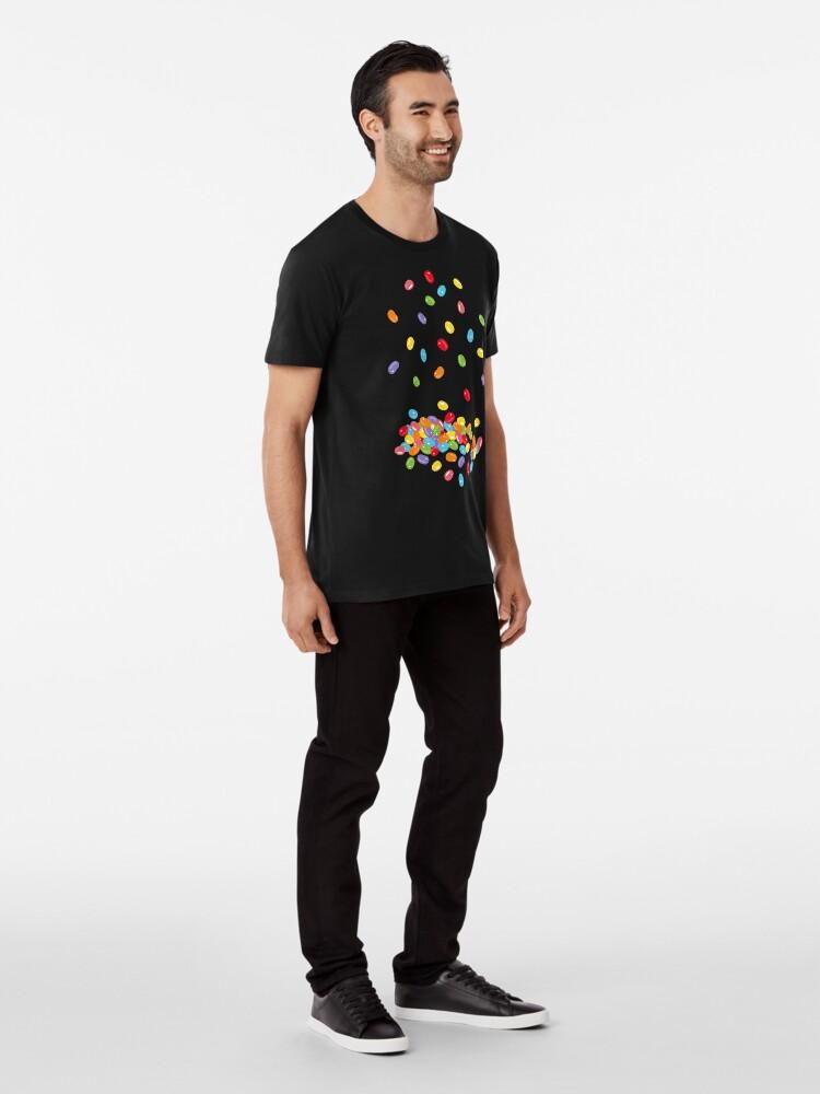 Alternative Ansicht von Ostern Jelly Beans Bonbons Süßigkeiten Osterfest Premium T-Shirt