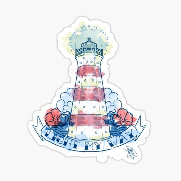 Light my Way Sticker