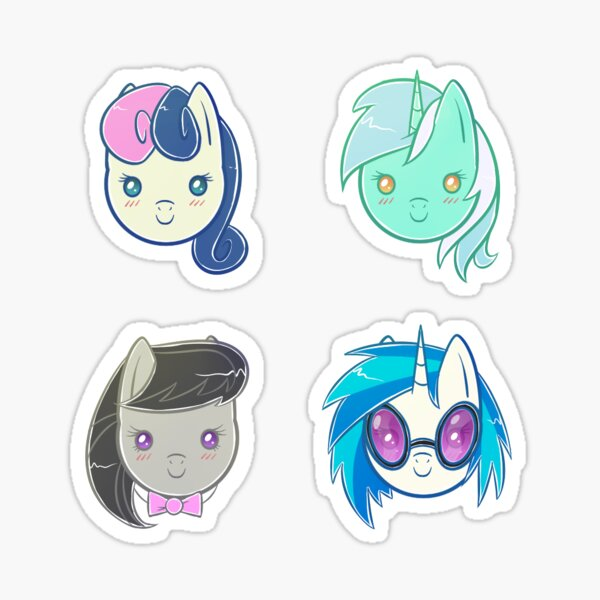 MLP - Background/Minor Character Set 2 Sticker