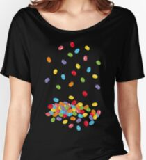 Ostern Jelly Beans Bonbons Süßigkeiten Osterfest Baggyfit T-Shirt