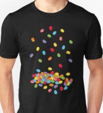 Ostern Jelly Beans Bonbons Süßigkeiten Osterfest Unisex T-Shirt