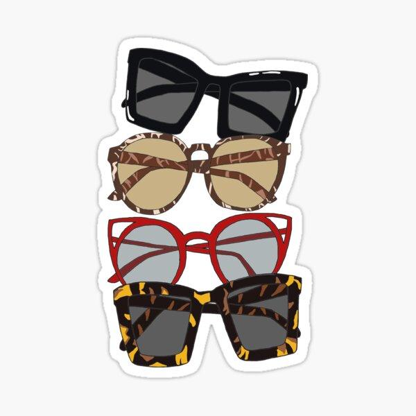 My favorite sunglass collection Sticker