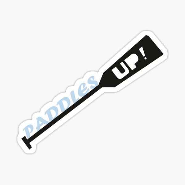 Paddles UP! Sticker