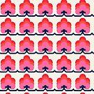 Retro Muster in rosa Tönen von ShowMeMars