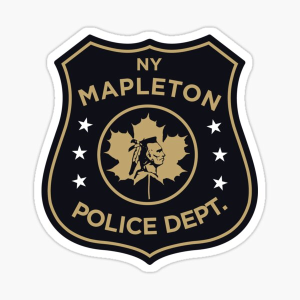 The Leftovers - Mapleton Police Department  Sticker