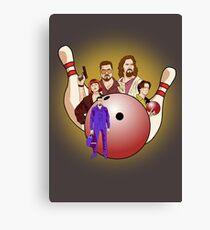 Dude,  let's go bowling. Canvas Print